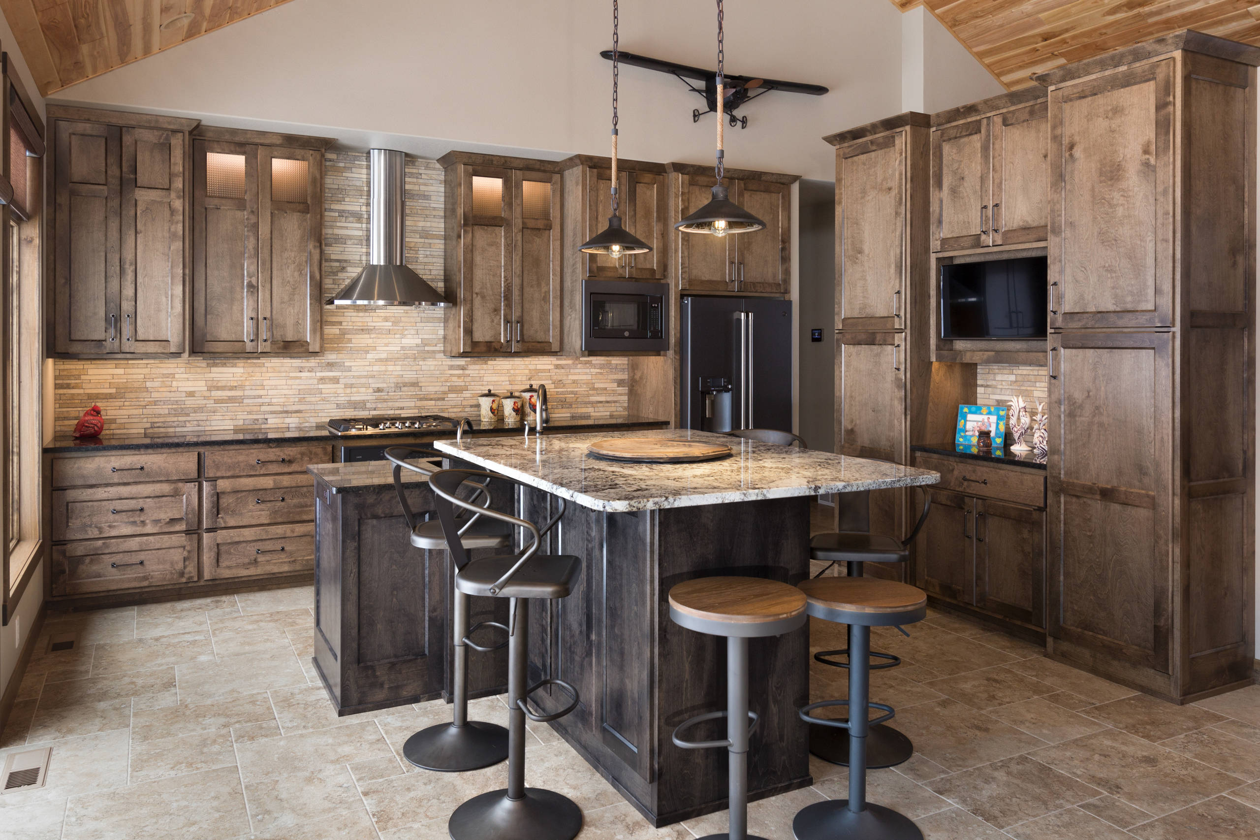 Cuisine D Angle Avec Bar 75 beautiful rustic l-shaped kitchen pictures & ideas | houzz