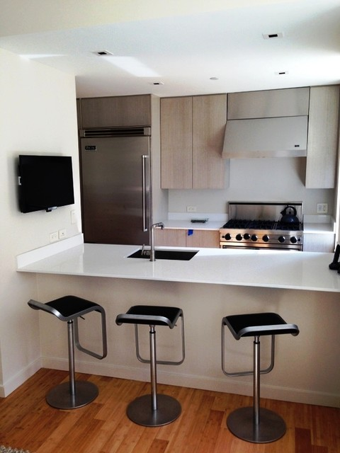 Chelsea Condo Contemporary Kitchen New York by