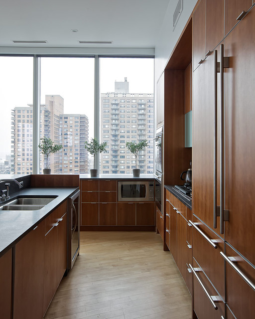 Chelsea Duplex Penthouse contemporary kitchen