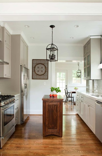 Chelsea Home Renovation traditional-kitchen