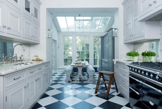 Long Narrow Kitchen | Houzz