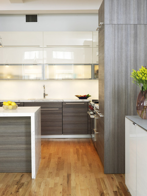 Chelsea Loft contemporary-kitchen