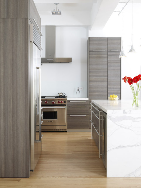 Chelsea Loft contemporary kitchen