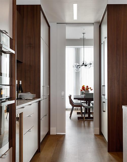 Chelsea Loft contemporary-kitchen