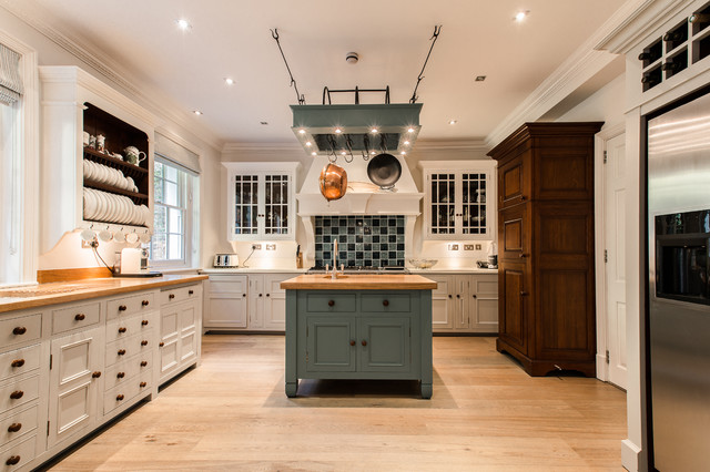 Chelsea Townhouse London Traditional Kitchen London