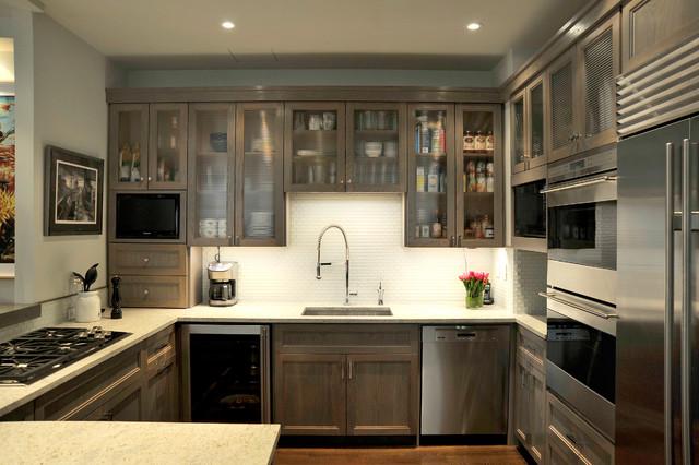 Chelsea24 manhattan loft modern kitchen new york by carol kurth architecture interiors - Manhattan kitchen design ...