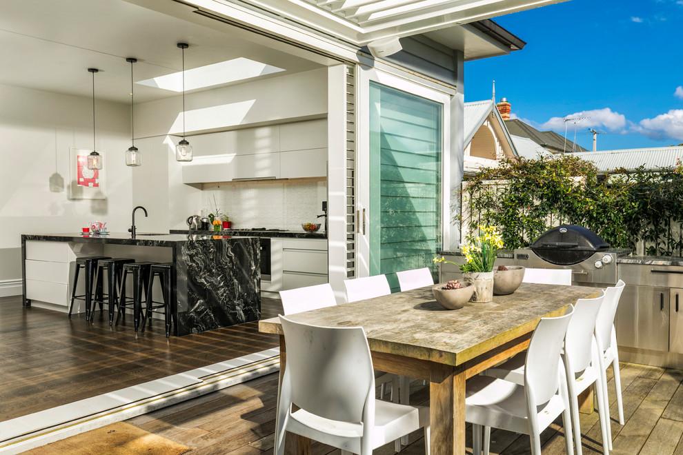 Cheltanham Quirky - Beach Style - Kitchen - Auckland - by ...