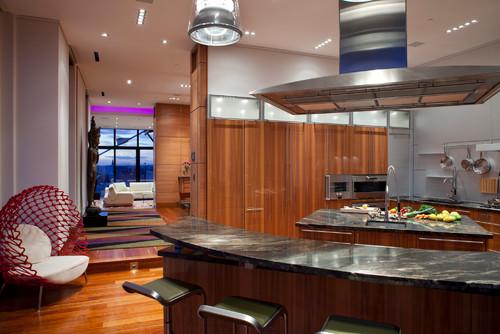 Ruang yang terhad bukanlah halangan untuk memiliki dapur yang cantik
