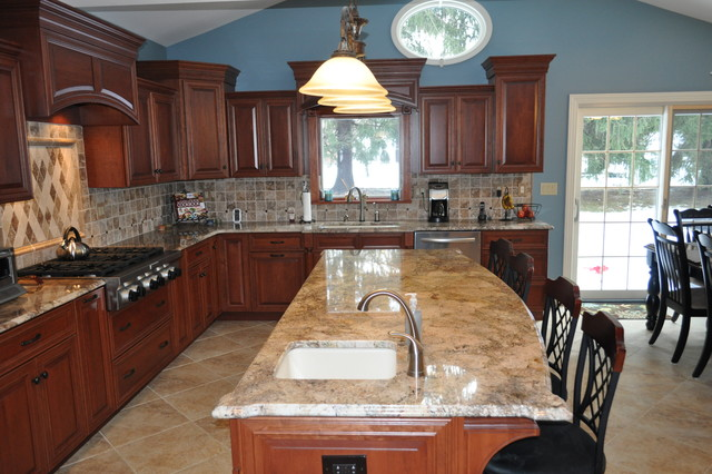 Cherry Cabinets traditional-kitchen