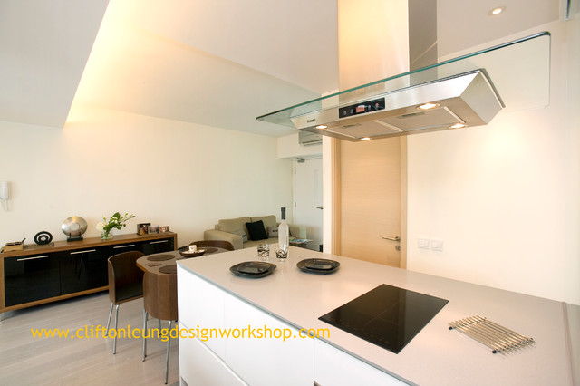 Cherry Crest - Huge Extension of Space contemporary-kitchen