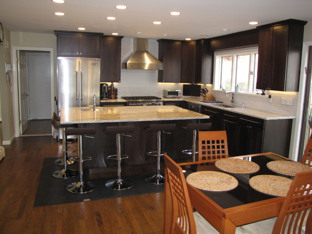 Cherry Hill Project contemporary-kitchen