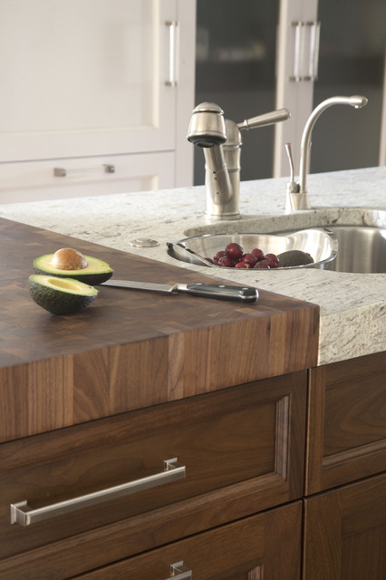 Kitchen Countertops Kitchen Counters: Try An Integrated Cutting Board For  Easy Food Prep