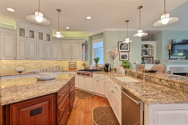 cherry traditional kitchen other metro by
