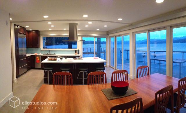 Cherry Kitchen Cabinets - Modern - Kitchen - seattle - by ...