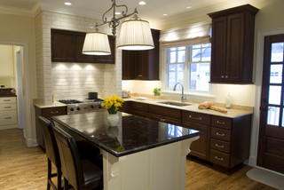 Cherry Kitchen Traditional Kitchen Chicago By The