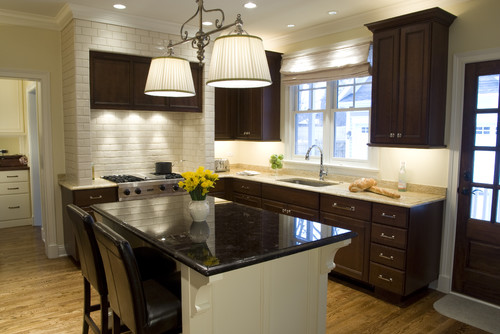 houzz com photos 44238 Cherry Kitchen traditional kitchen chicago
