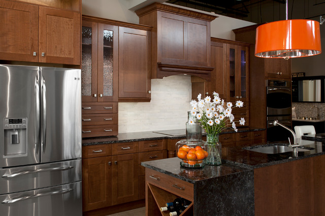 Kitchen Cabinets And Countertops That Are  Wide
