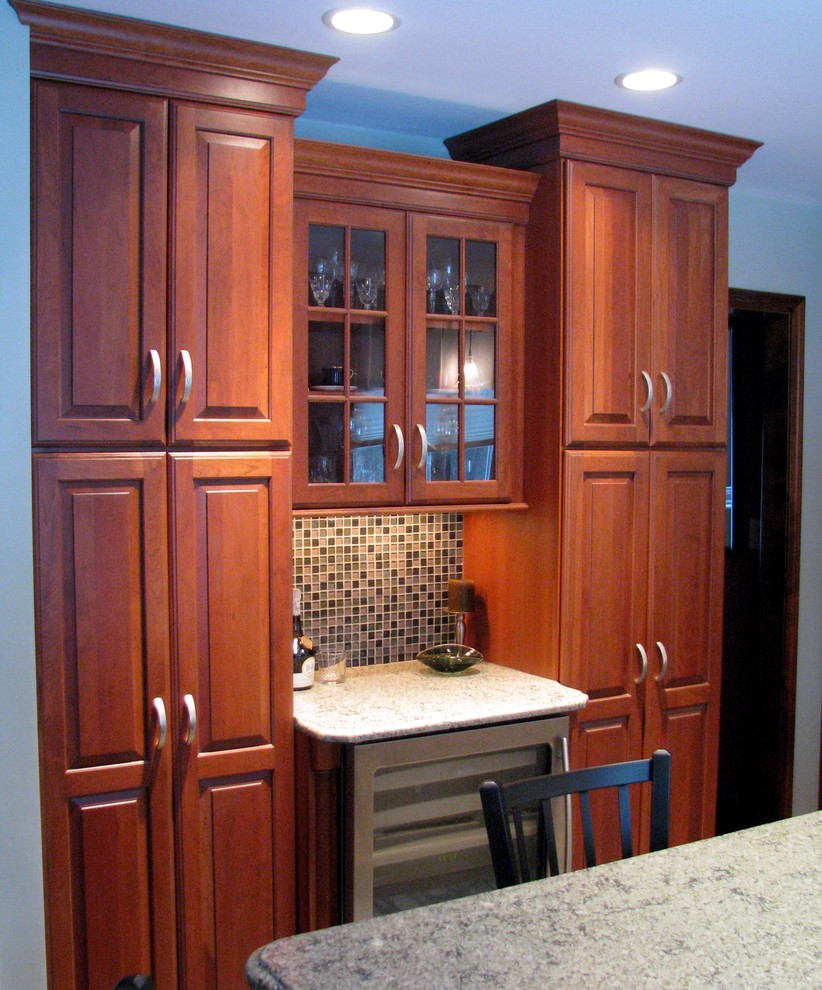 Cherry Wood Jubilee - Traditional - Kitchen - Providence ...