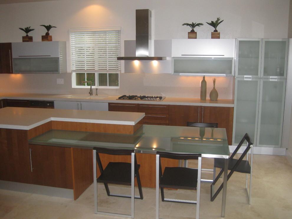 Cherry wood modern kitchen designs - Modern - Kitchen ...