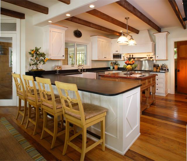 Chesapeake Retreat farmhouse-kitchen