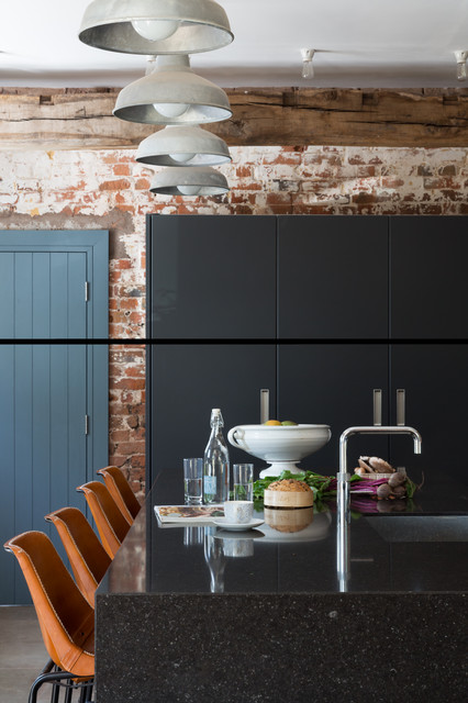 Cheshire Barn Country Kitchen London By Paul Craig Photography