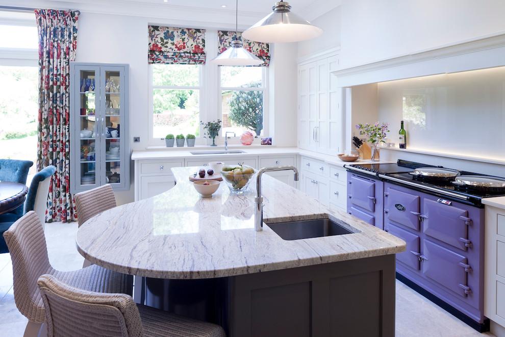 Cheshire Victorian Villa Transitional Kitchen Cheshire By Fiona Watkins Design Limited