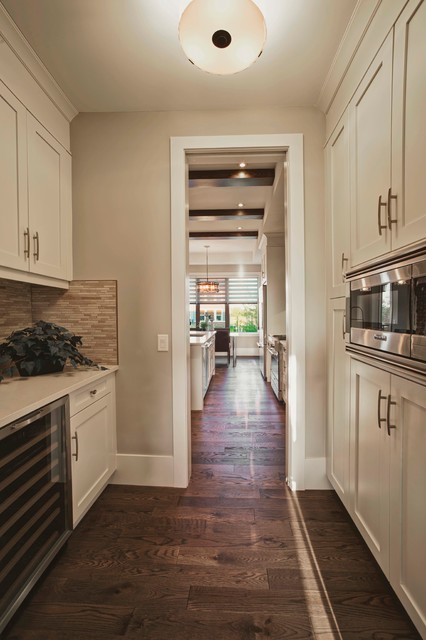 Chestermere Show Home contemporary-kitchen