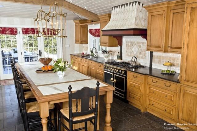 Chestnut Hill traditional-kitchen