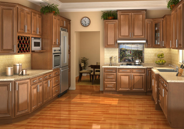 Chestnut pillow kitchen cabinets kitchen cabinet kings for Kitchen cabinets king