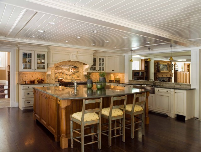 Chestnut Street Kitchen traditional-kitchen
