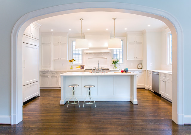 Traditional Arch Cooke Kitchen Ideas
