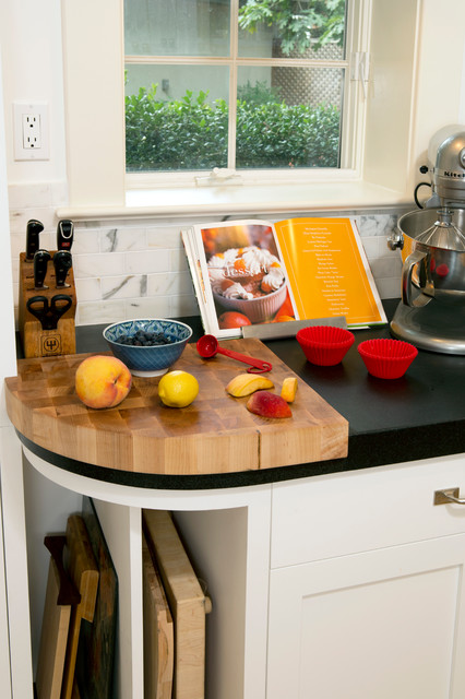Chevy Chase DC Kitchen and Mudroom Remodel eclectic-kitchen