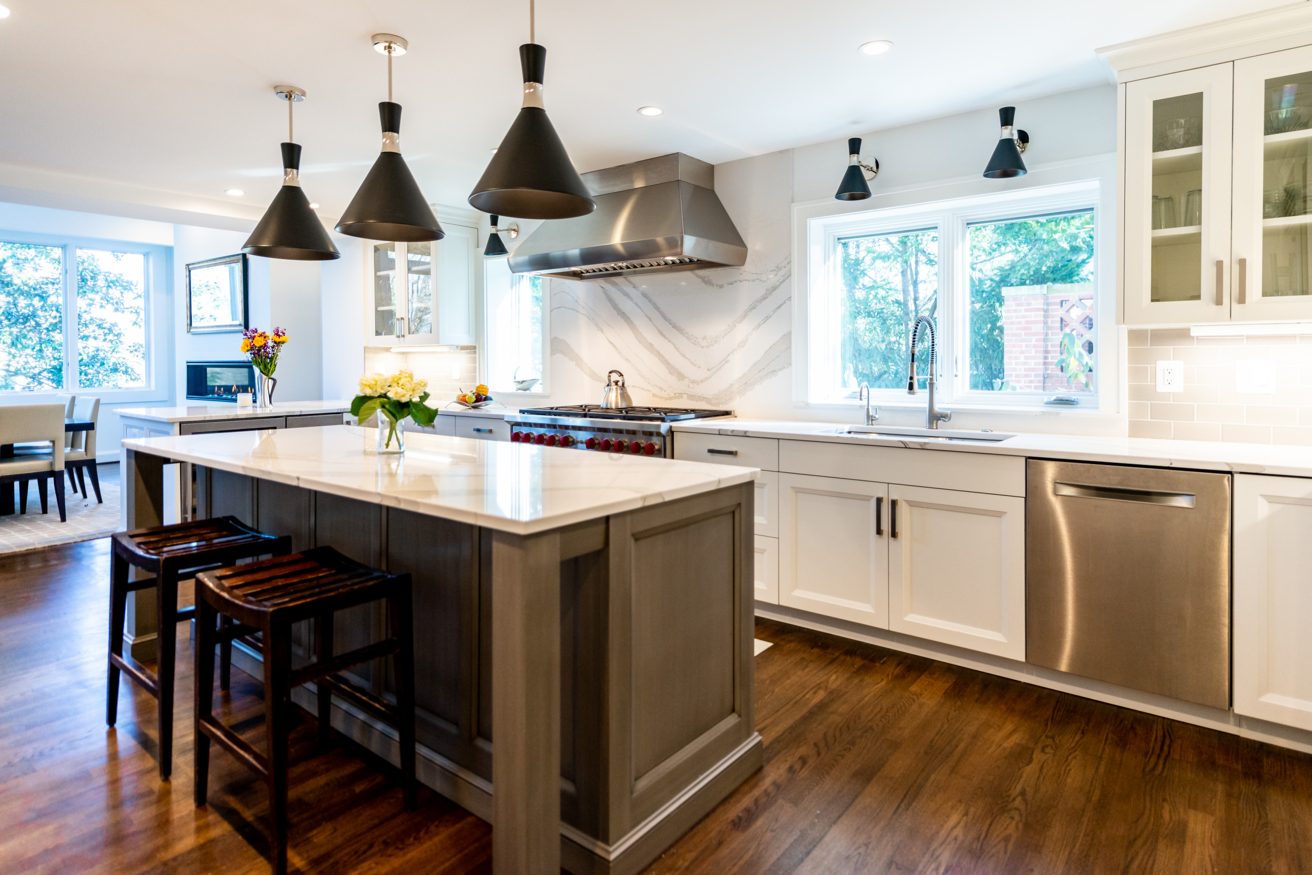 Chevy Chase Kitchen/ Dining Room/ Mudroom