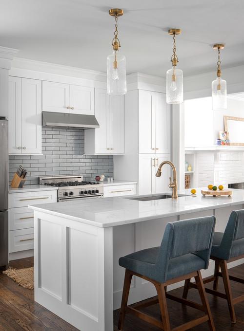 modern kitchen remodel in atlanta