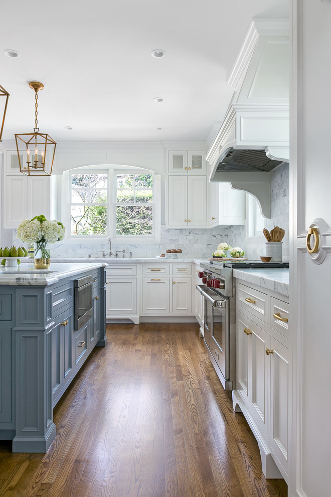 Chic in Menlo Park - Traditional - Kitchen - San Francisco ...