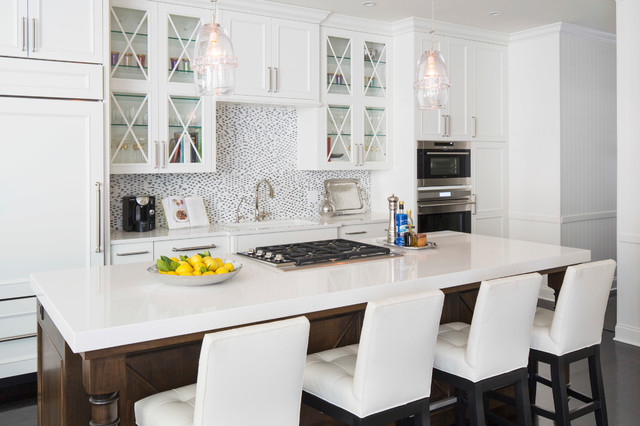 Chic Townhome transitional-kitchen