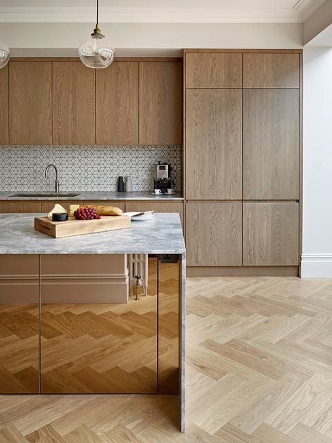 Chic Urban Kitchen Design Contemporary Kitchen South East By Edmondson Interiors