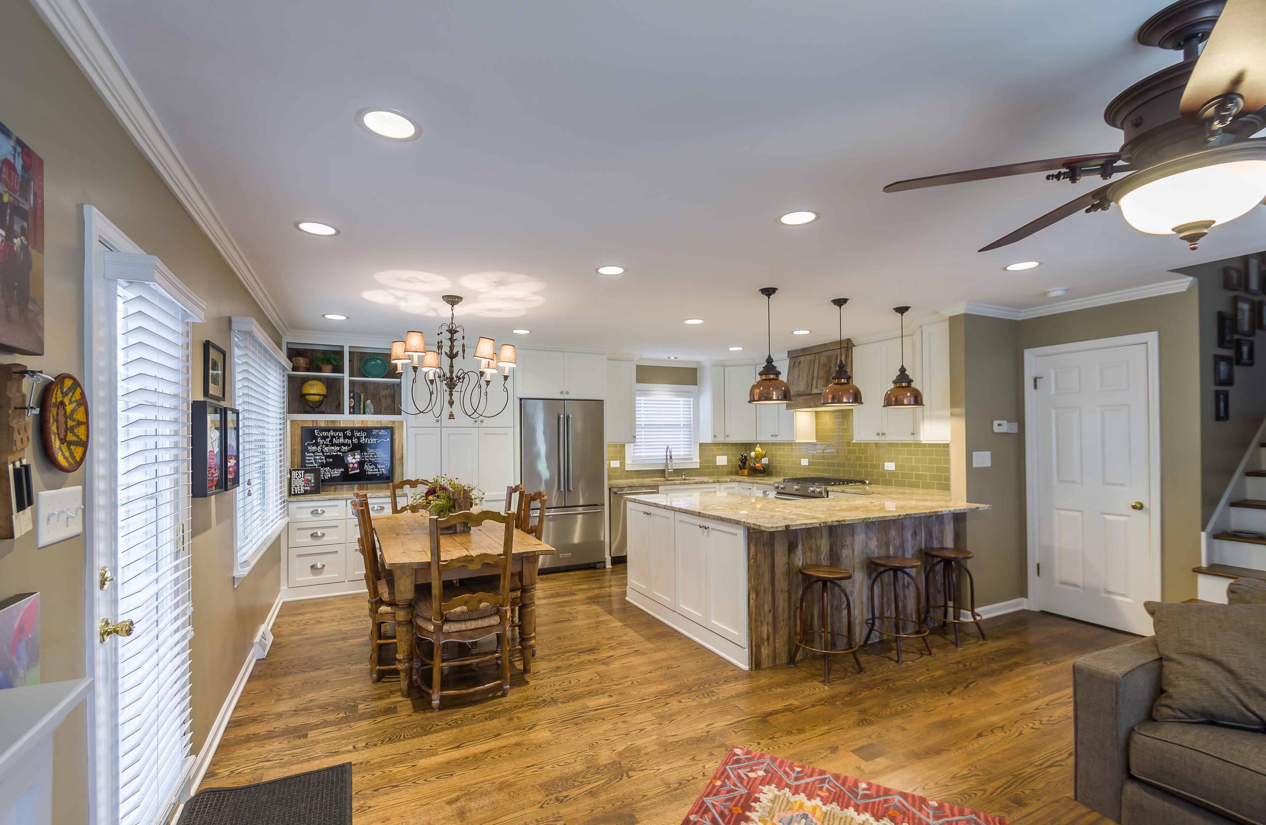 Refined Rustic Kitchen & Exterior Refresh