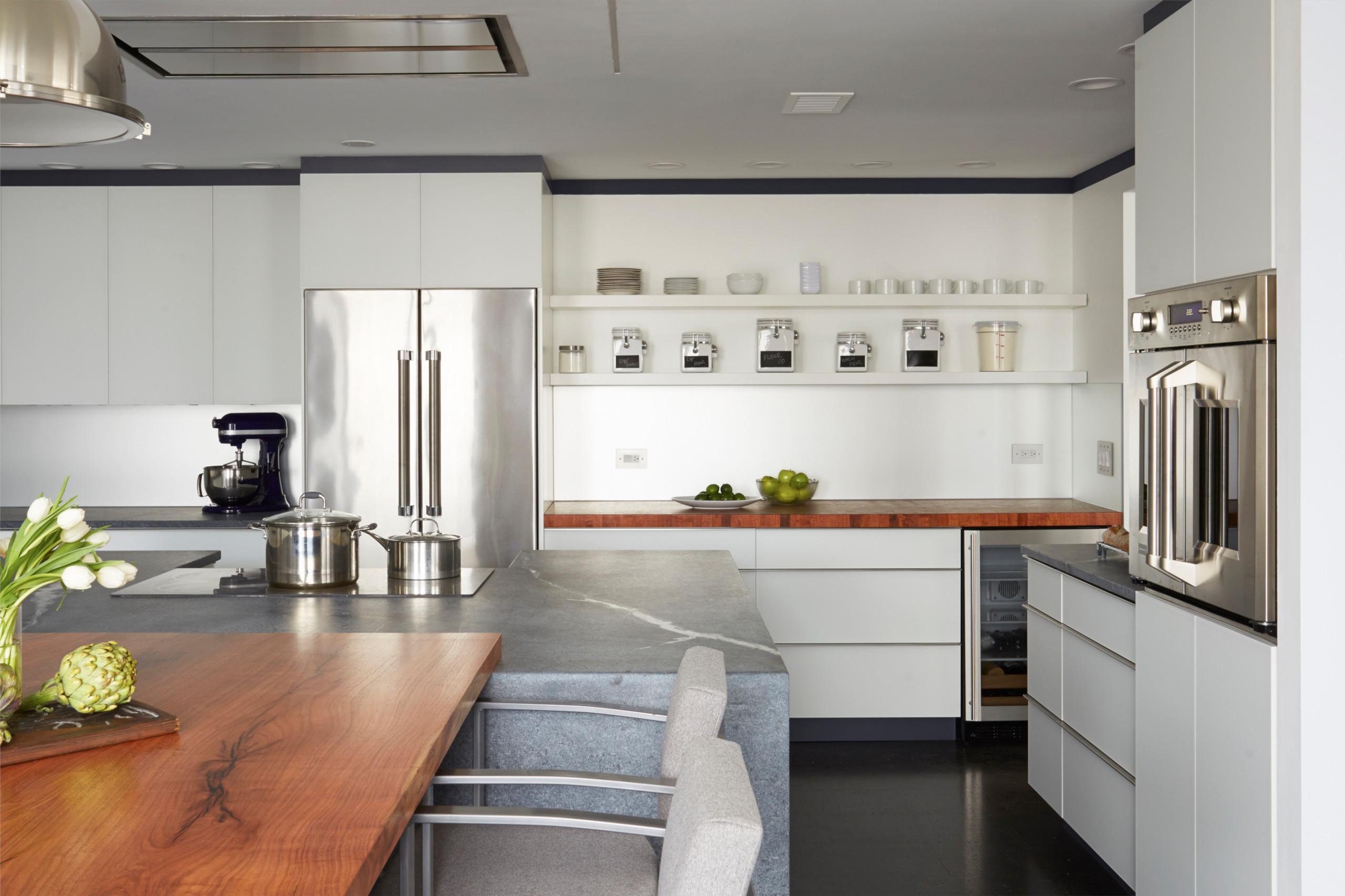 Chicago Bread Baker's Kitchen.  Design by Fred M Alsen of fma Interior Design.