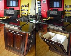 Chicago Condo III contemporary-kitchen
