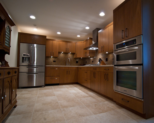 Chicago Contemporary Residence transitional-kitchen