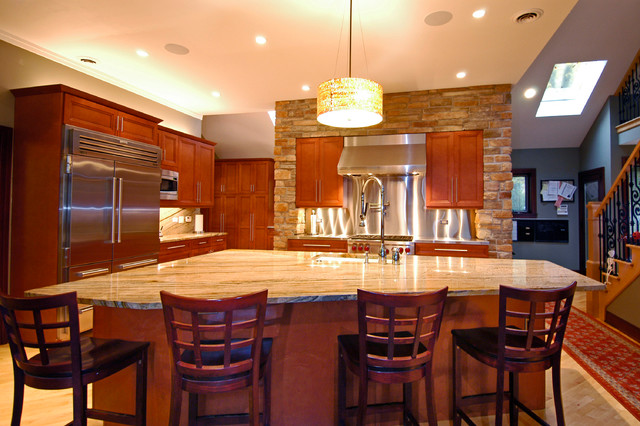 Chicago Il Contemporary Kitchen Chicago By Ddk Kitchen Design Group