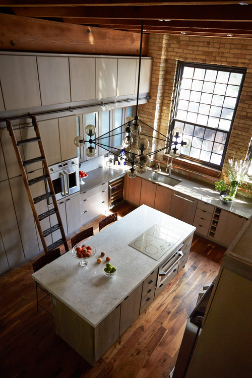 Genial Kitchen Remodel In Old Banjo Factory Home U2014 See The Pics