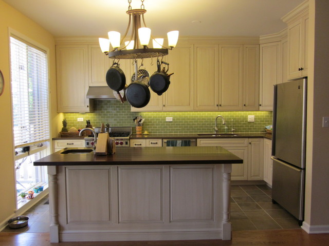 Chicago Townhouse Kitchen Remodel transitional-kitchen