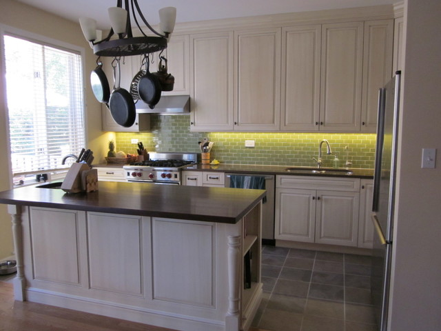 Chicago Townhouse Kitchen Remodel Transitional Kitchen Chicago By Green Home Chicago