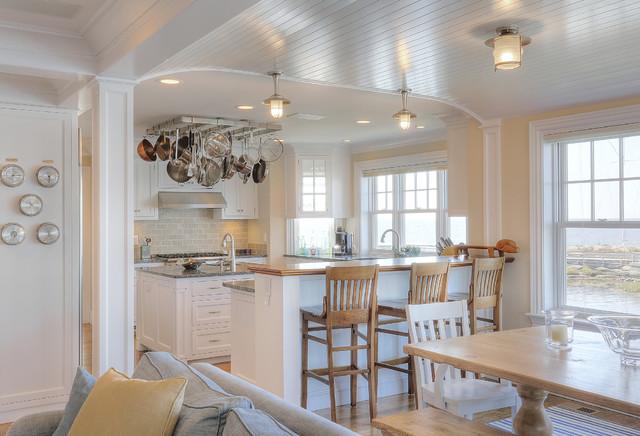 Chimney Corner Cottage Beach Style Kitchen