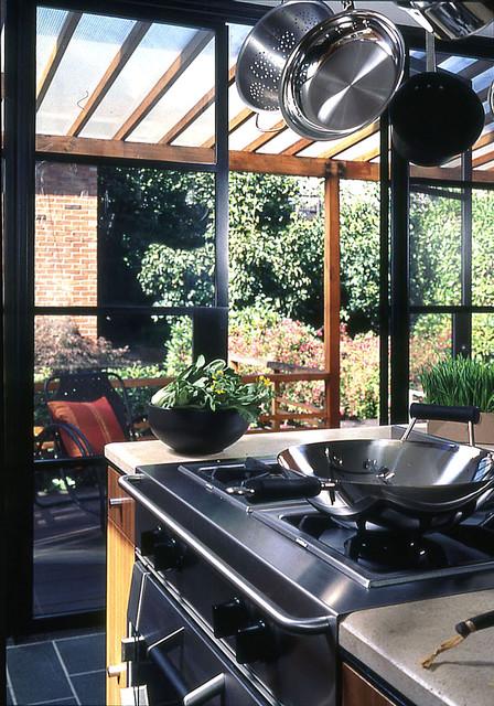 Chin Graham Residence modern-kitchen