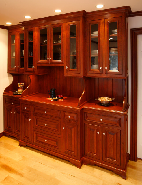 China cabinet - Traditional - Kitchen - other metro - by Essential Home Artisans Design Center