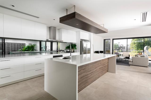 China White contemporary-kitchen