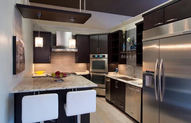 Chocolate Pear Kitchen contemporary kitchen